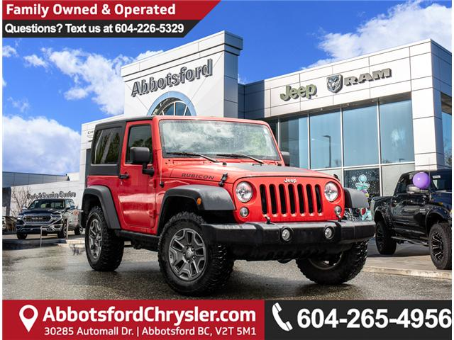 2015 Jeep Wrangler Rubicon (Stk: K626178B) in Abbotsford - Image 1 of 28