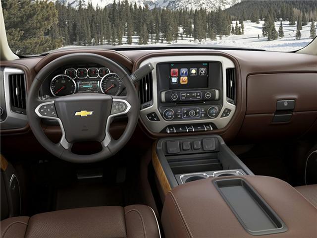 2015 Chevrolet Silverado 1500 High Country (Stk: J19044) in Brandon - Image 2 of 2