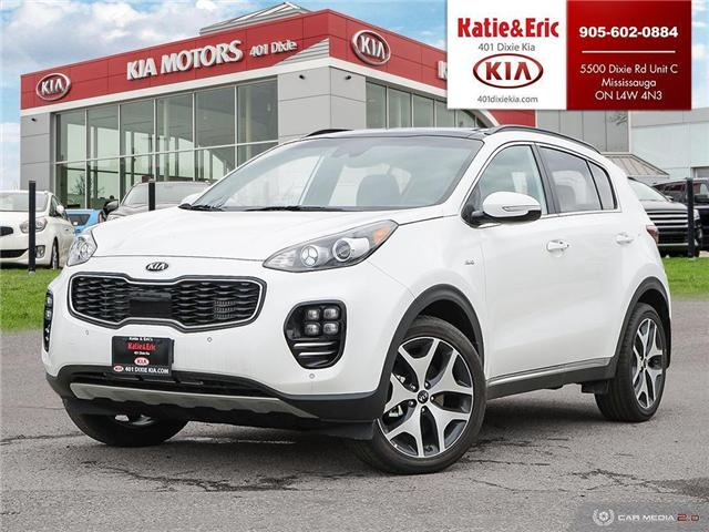 2018 Kia Sportage SX Turbo (Stk: ST18081) in Mississauga - Image 1 of 28