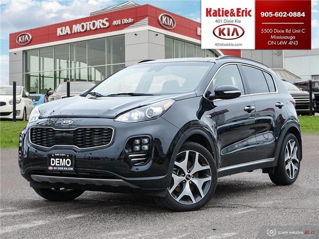 2018 Kia Sportage SX Turbo (Stk: ST18029) in Mississauga - Image 1 of 28