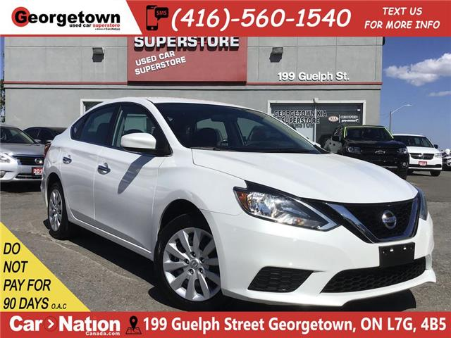 2017 Nissan Sentra 1.8 SV | AUTO | BLUTOOTH | PWR GROUP | BU CAM (Stk: GSP136) in Georgetown - Image 1 of 24