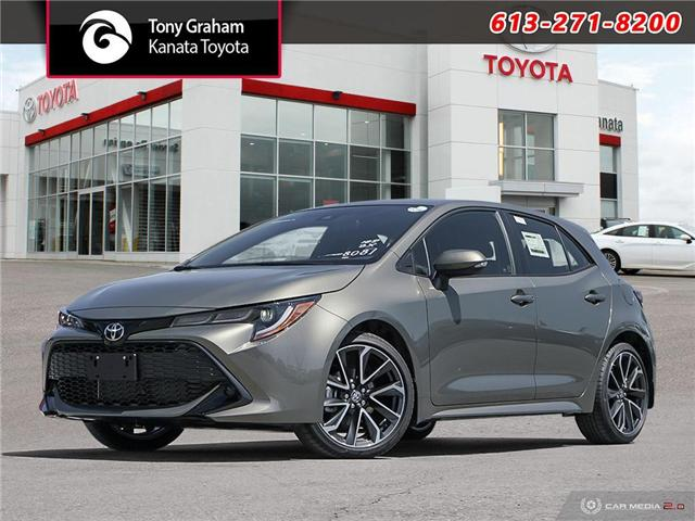 2019 Toyota Corolla Hatchback SE Upgrade Package (Stk: 89547) in Ottawa - Image 1 of 29