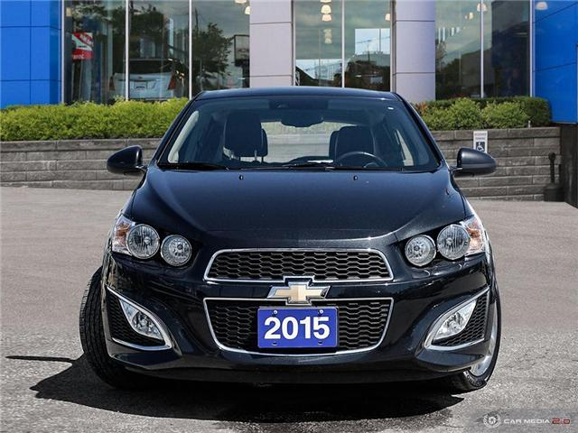 2015 Chevrolet Sonic RS Manual (Stk: 2930097A) in Toronto - Image 2 of 27