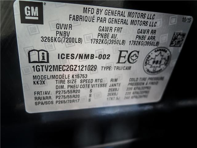 2016 GMC Sierra 1500 SLE (Stk: 93024A) in Waterloo - Image 19 of 21