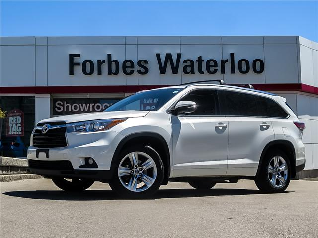 2016 Toyota Highlander Limited (Stk: 94028A) in Waterloo - Image 1 of 27