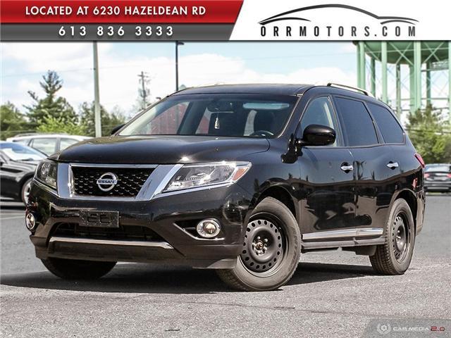 2015 Nissan Pathfinder Platinum (Stk: 5632) in Stittsville - Image 1 of 28