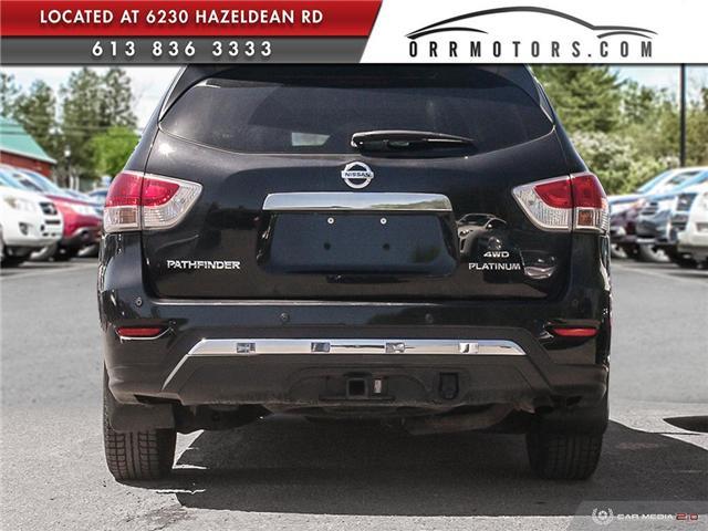 2015 Nissan Pathfinder Platinum (Stk: 5632) in Stittsville - Image 5 of 28