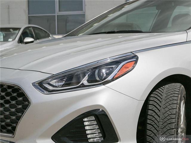 2019 Hyundai Sonata ESSENTIAL (Stk: NE185) in Calgary - Image 9 of 27