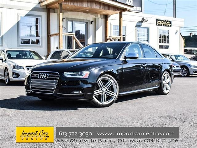 2016 Audi S4 3.0T Technik plus (Stk: 007215) in Ottawa - Image 1 of 30