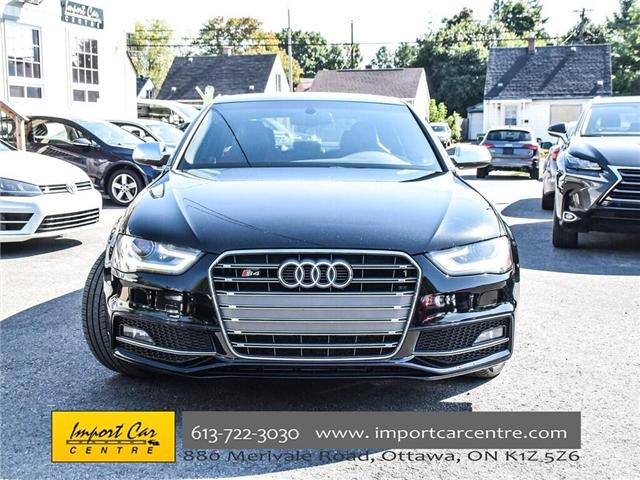 2016 Audi S4 3.0T Technik plus (Stk: 007215) in Ottawa - Image 2 of 30