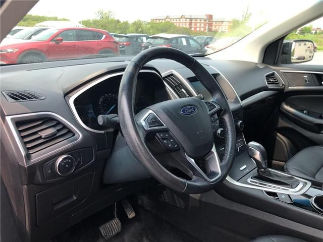 2015 Ford Edge SEL (Stk: 19P017) in Kingston - Image 10 of 17