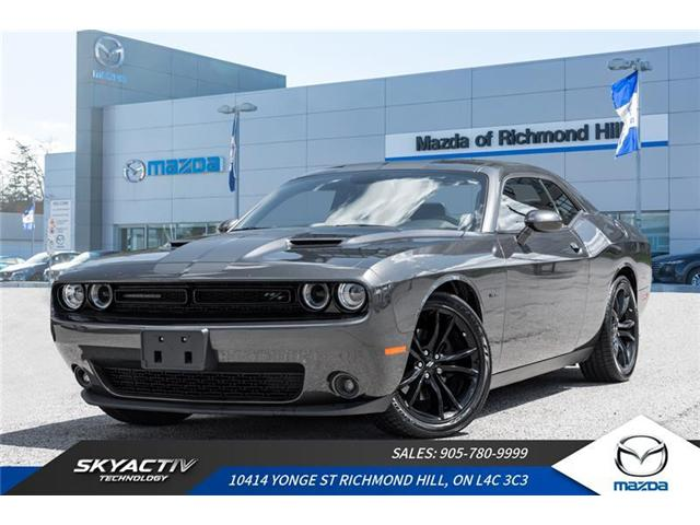 2017 Dodge Challenger R/T (Stk: P0419) in Richmond Hill - Image 1 of 20