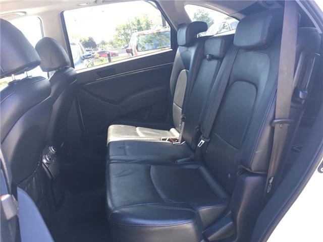 2010 Hyundai Veracruz GLS (Stk: 1698W) in Oakville - Image 11 of 28