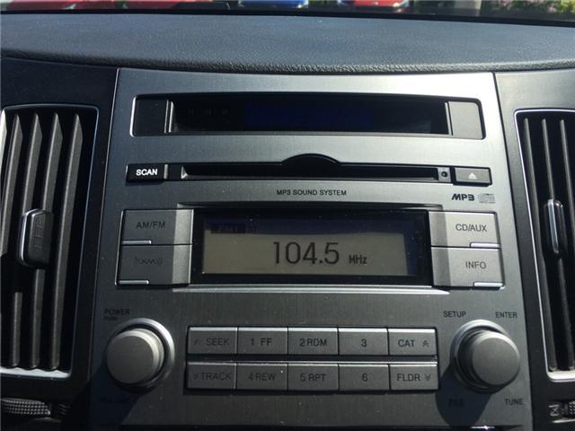 2010 Hyundai Veracruz GLS (Stk: 1698W) in Oakville - Image 23 of 28