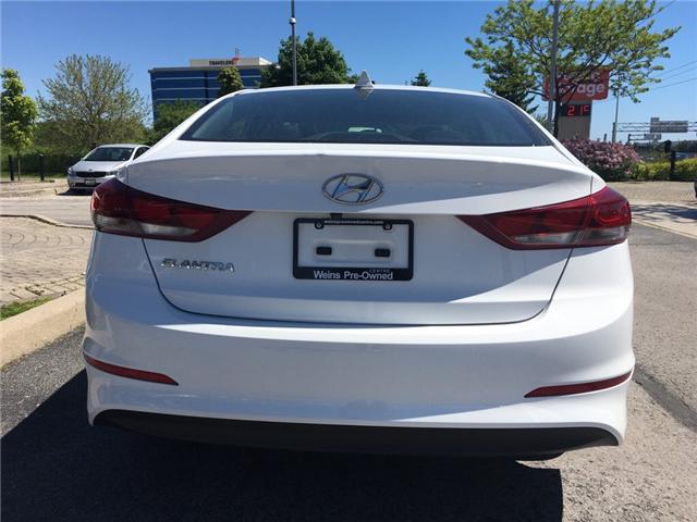 2017 Hyundai Elantra GL (Stk: 1700W) in Oakville - Image 6 of 9