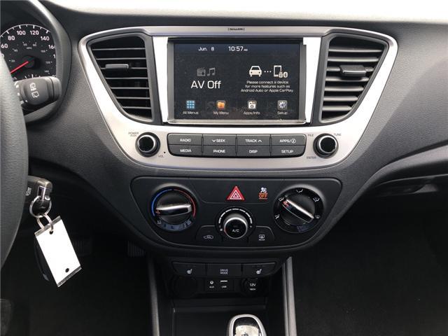 2019 Hyundai Accent Preferred (Stk: P36734) in Saskatoon - Image 15 of 18