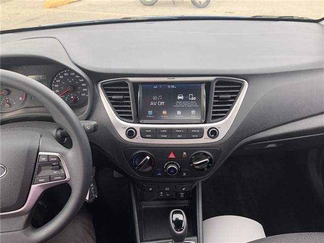 2019 Hyundai Accent Preferred (Stk: P36735) in Saskatoon - Image 14 of 18