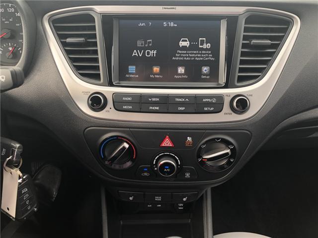 2019 Hyundai Accent Preferred (Stk: P36735) in Saskatoon - Image 15 of 18