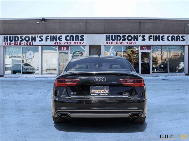 2016 Audi A6 2.0T Progressiv (Stk: 17181) in Toronto - Image 6 of 30