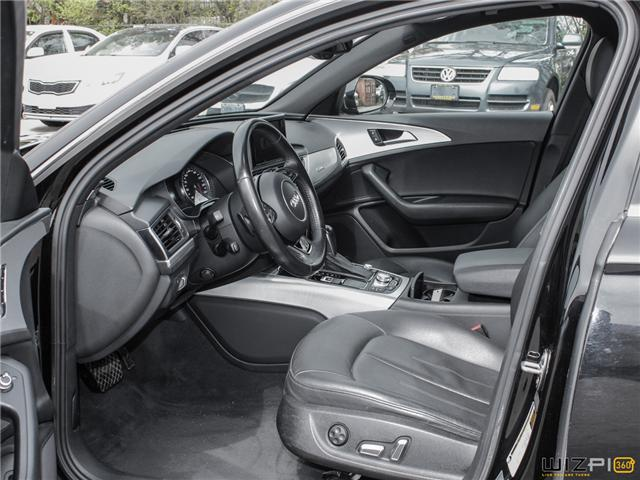 2016 Audi A6 2.0T Progressiv (Stk: 17181) in Toronto - Image 12 of 30
