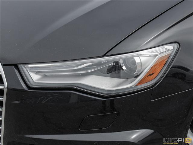 2016 Audi A6 2.0T Progressiv (Stk: 17181) in Toronto - Image 14 of 30