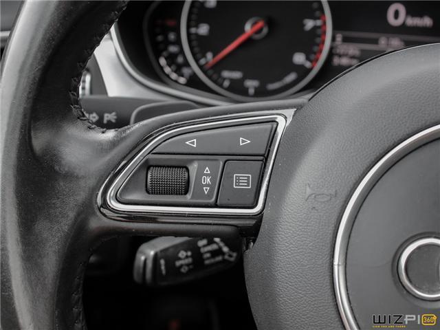 2016 Audi A6 2.0T Progressiv (Stk: 17181) in Toronto - Image 19 of 30