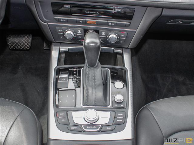 2016 Audi A6 2.0T Progressiv (Stk: 17181) in Toronto - Image 25 of 30