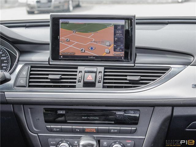 2016 Audi A6 2.0T Progressiv (Stk: 17181) in Toronto - Image 26 of 30