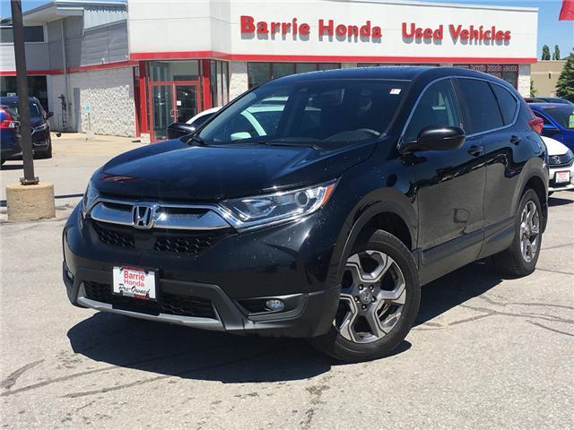 2017 Honda CR-V EX (Stk: U17007) in Barrie - Image 1 of 19