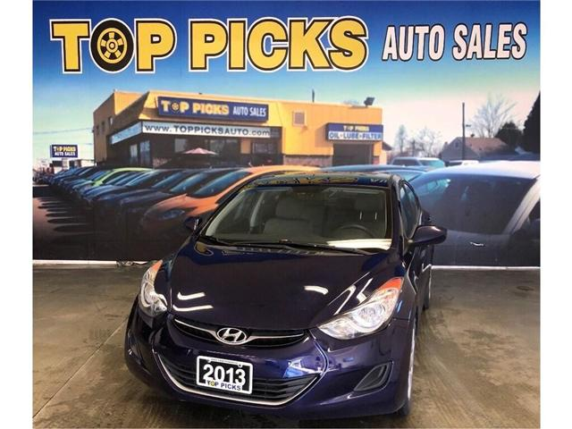 2013 Hyundai Elantra GL (Stk: 202045) in NORTH BAY - Image 1 of 23