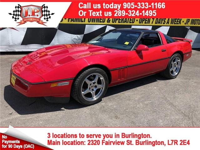 1986 Chevrolet Corvette Manual, Leather, Only 57,000km (Stk: 47120) in Burlington - Image 1 of 18