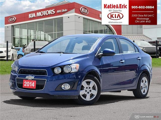2014 Chevrolet Sonic LT Auto (Stk: FO19048A) in Mississauga - Image 1 of 26