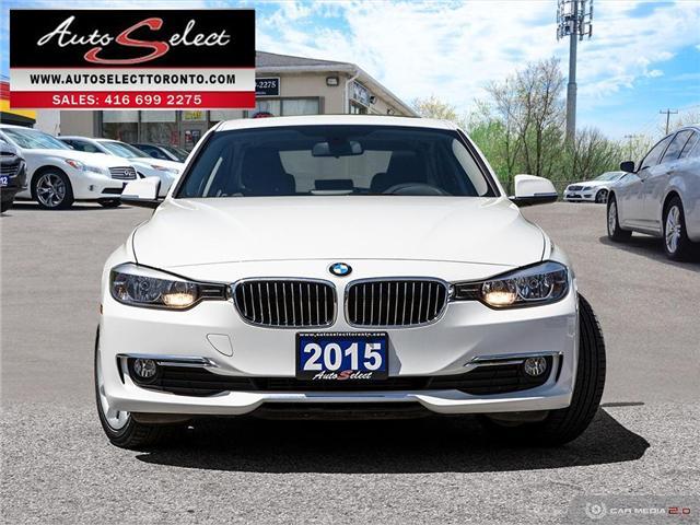 2015 BMW 320i xDrive (Stk: 1W431XN) in Scarborough - Image 2 of 27