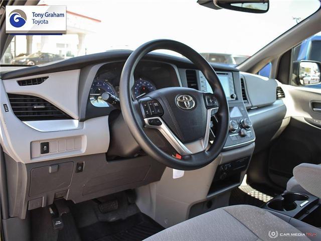 2019 Toyota Sienna LE 8-Passenger (Stk: U9122) in Ottawa - Image 13 of 29