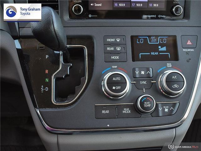 2019 Toyota Sienna LE 8-Passenger (Stk: U9122) in Ottawa - Image 20 of 29