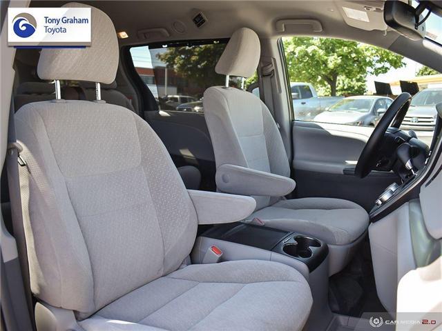 2019 Toyota Sienna LE 8-Passenger (Stk: U9122) in Ottawa - Image 23 of 29