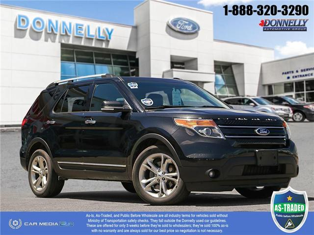2013 Ford Explorer Limited (Stk: PBWDS132A) in Ottawa - Image 1 of 29