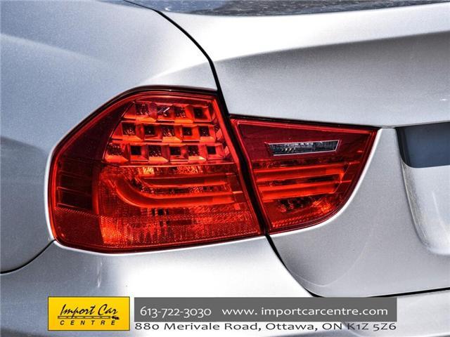 2011 BMW 328i xDrive (Stk: N58654) in Ottawa - Image 8 of 30