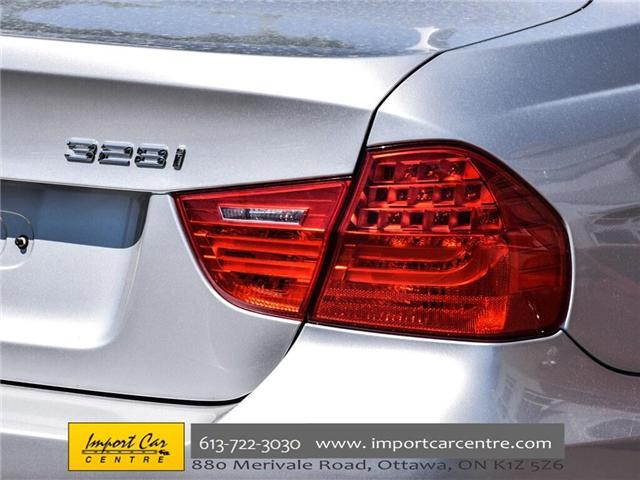 2011 BMW 328i xDrive (Stk: N58654) in Ottawa - Image 10 of 30