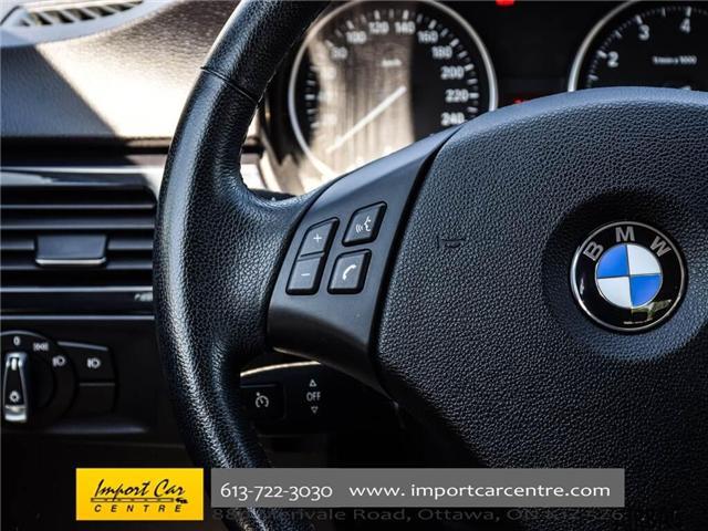 2011 BMW 328i xDrive (Stk: N58654) in Ottawa - Image 19 of 30