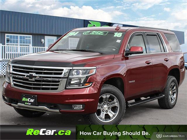 2016 Chevrolet Tahoe LT (Stk: 190643A) in Fredericton - Image 1 of 27