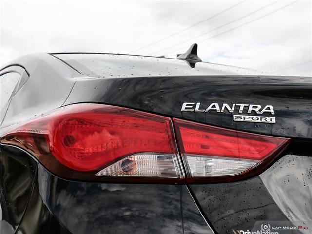 2015 Hyundai Elantra Sport Appearance (Stk: A2849) in Saskatoon - Image 12 of 29