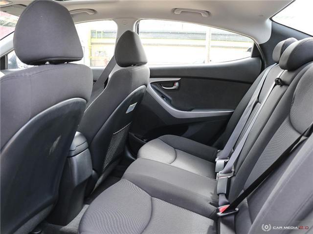 2015 Hyundai Elantra Sport Appearance (Stk: A2849) in Saskatoon - Image 25 of 29