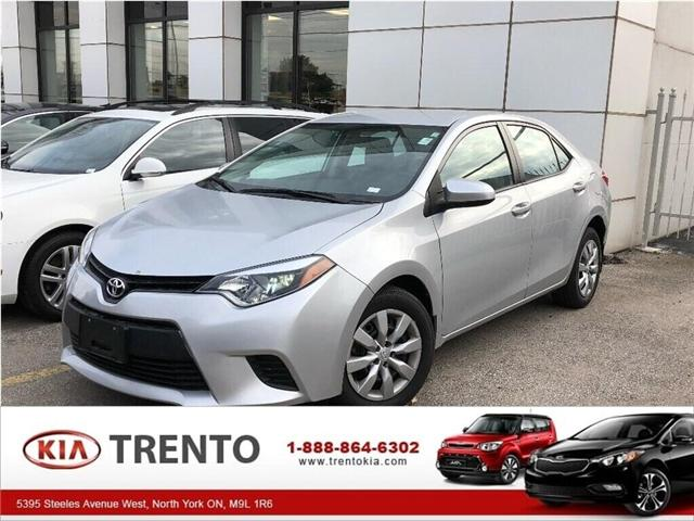 2014 Toyota Corolla LE (Stk: SF122) in North York - Image 1 of 17