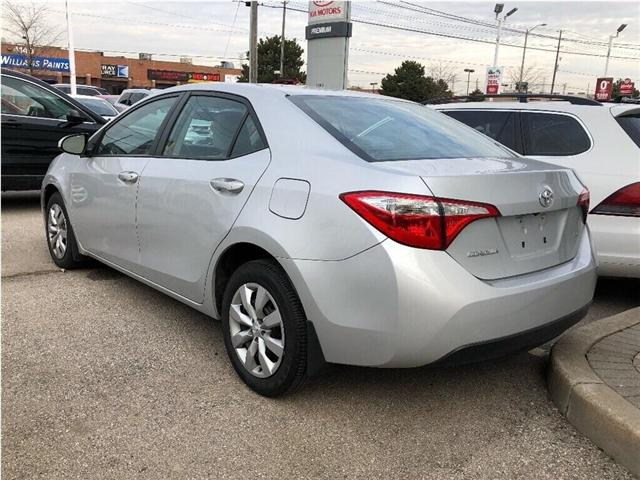 2014 Toyota Corolla LE (Stk: SF122) in North York - Image 4 of 17