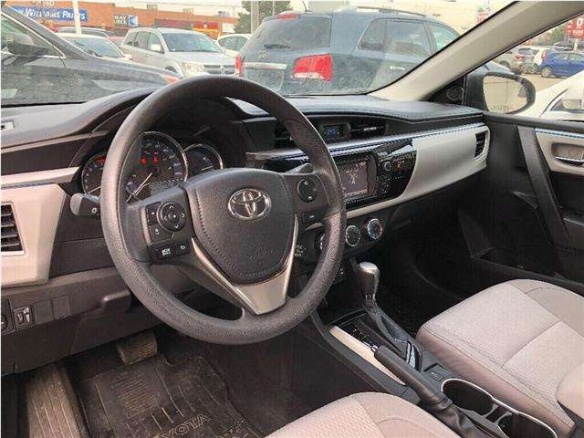 2014 Toyota Corolla LE (Stk: SF122) in North York - Image 8 of 17