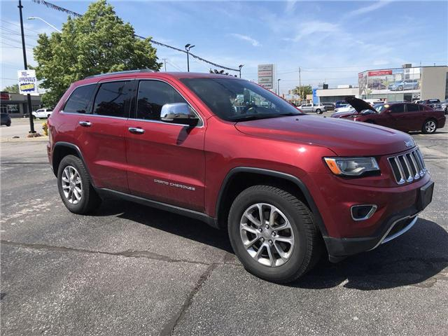 2015 Jeep Grand Cherokee Limited (Stk: 44586A) in Windsor - Image 1 of 14