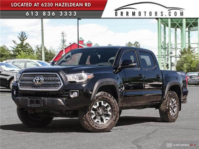 2017 Toyota Tacoma TRD Off Road (Stk: 5811A) in Stittsville - Image 1 of 28