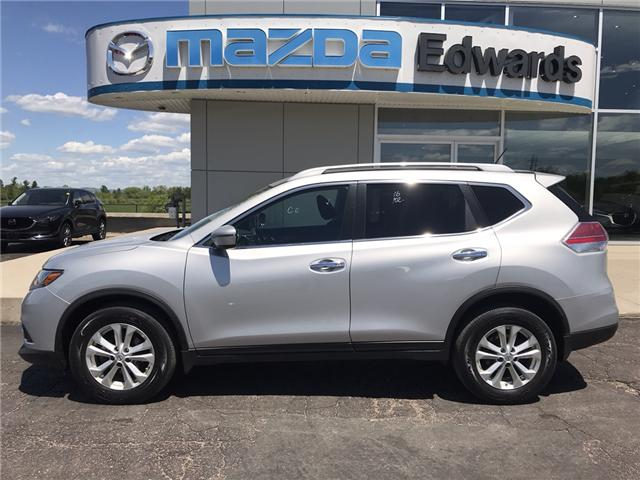 2016 Nissan Rogue SV (Stk: 21834) in Pembroke - Image 1 of 6