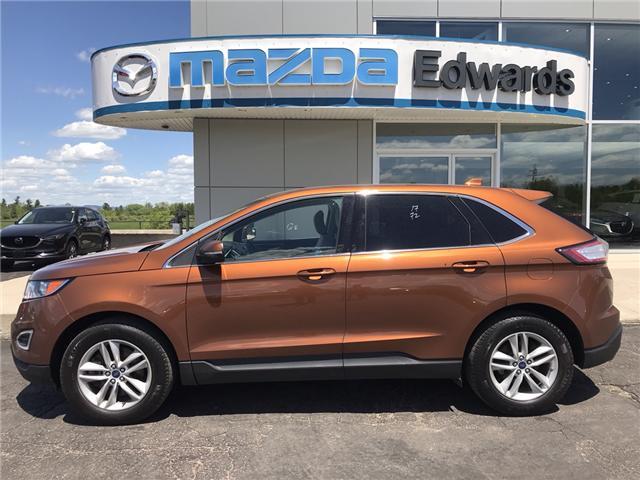 2017 Ford Edge SEL (Stk: 21841) in Pembroke - Image 1 of 6